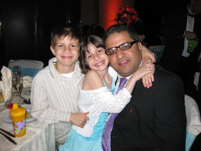 Tommy with Michael and Samantha
