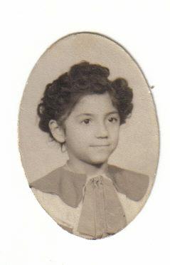Eva in school uniform