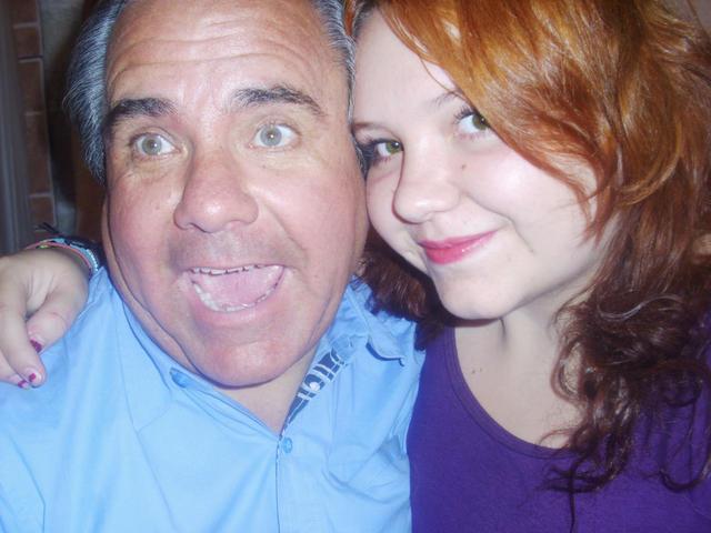 Daughter & Dad having some fun
