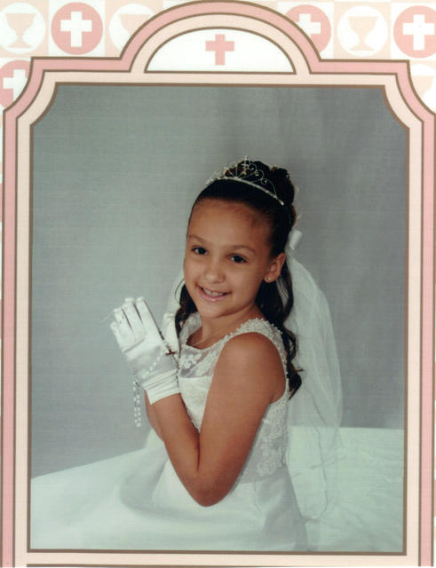 Taylar First Communion