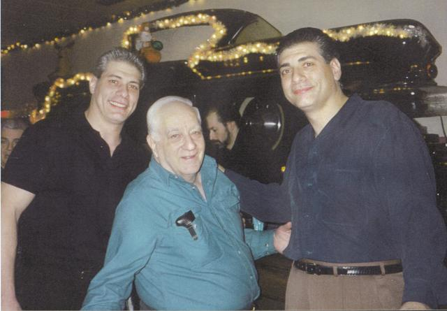 Steve, Dennis and Dad