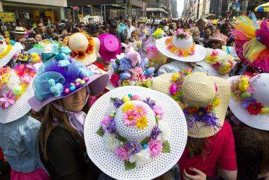 Easter parade on 5th