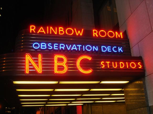 rainbow room marquee