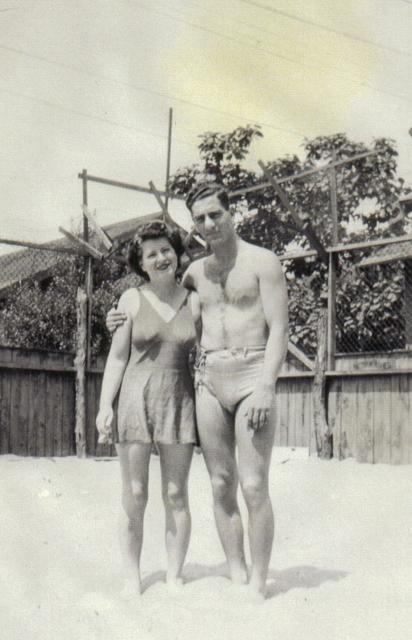 aunt martha and Dad