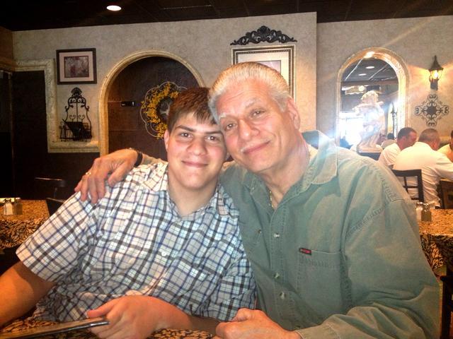 Miccah and Grandpa