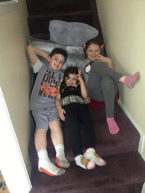 Ali, Gia and Joey