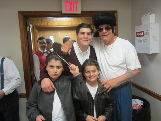 grandsons with grandpa
