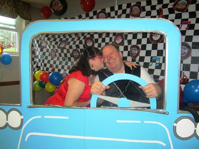 Krystal and Gregory in car