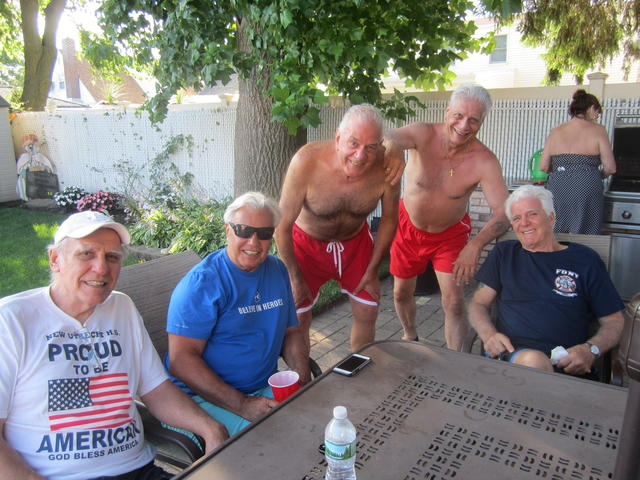 July 4th weekend at Joanne & Joe Sal's 005