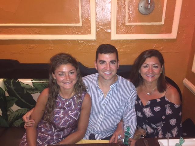 Little Maria, Christina and Michael