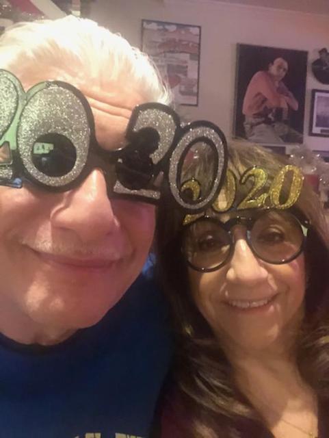 Eva & Steve New Year's Eve 2019 selfie
