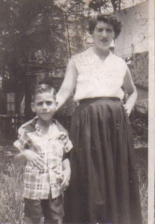 Steve and Mom