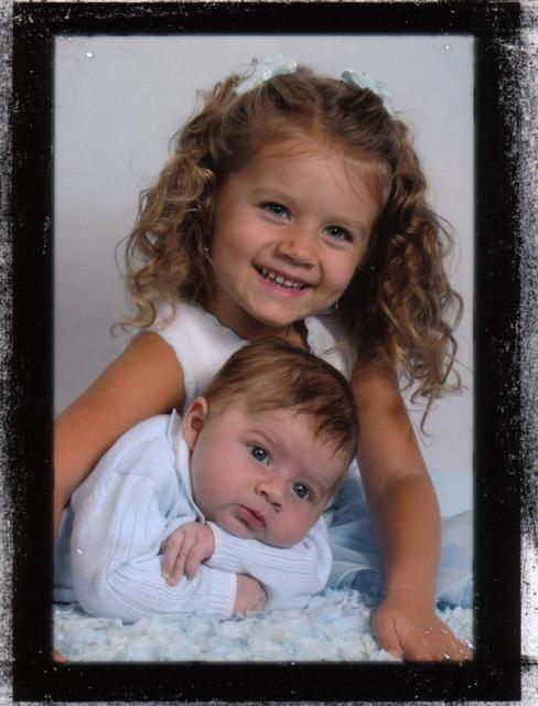 Olivia & AJ Aug 2008
