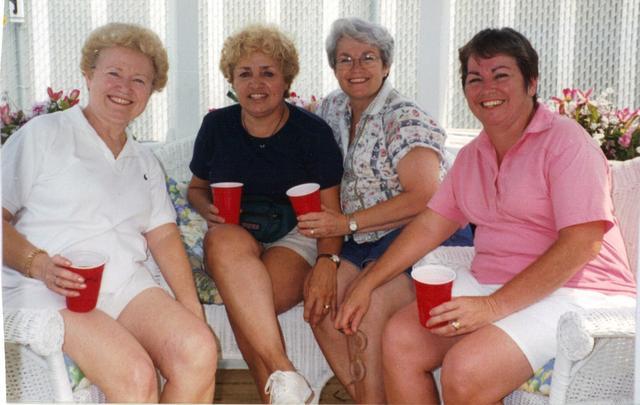 Marisabel, Miriam, Blanca and Delia