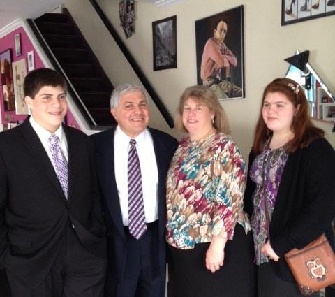 Kris & family visit to Brooklyn