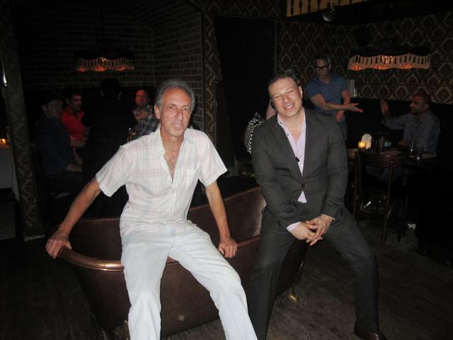 Andy and Bathtub Gin Manager Steve