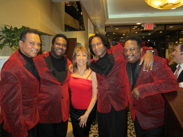 The Stylistics at Sirico's on Valentine's Day