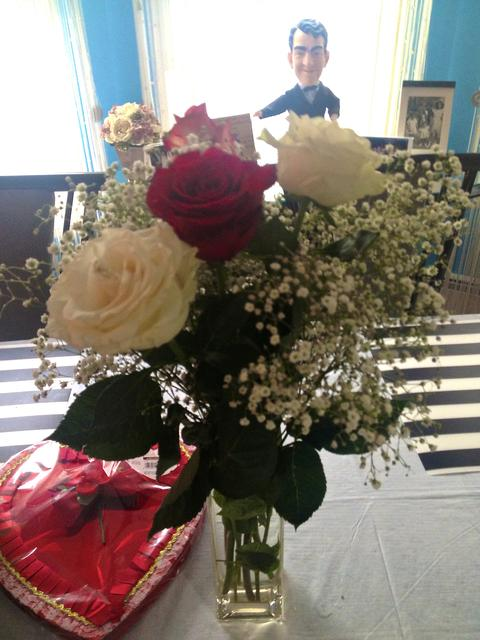 Roses from the kids