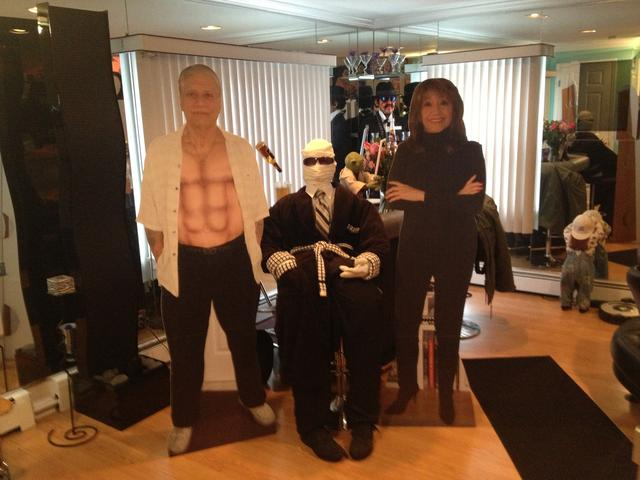 Steve, Invisible Man, Eva, and Little Emma