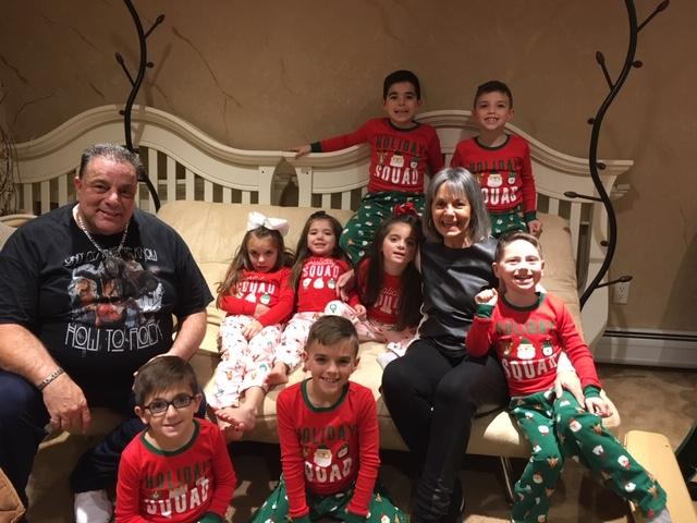 bobby and marie family Christmas 2018