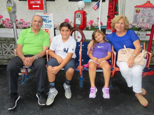 Guzzo with grandkids June 5 2019 030