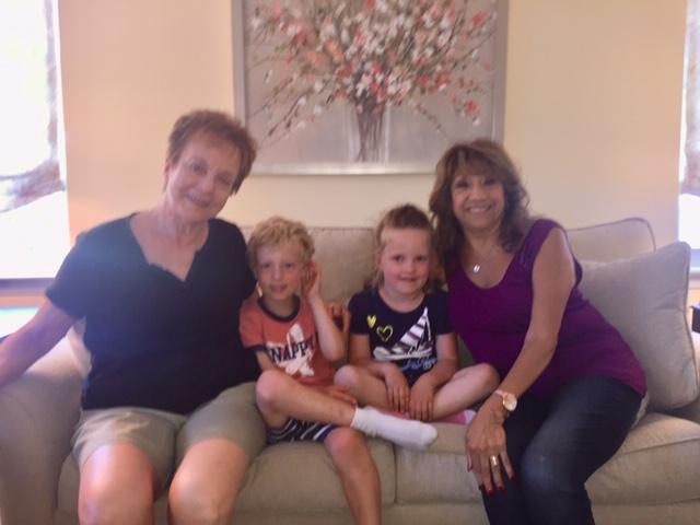 sue eva with kids june 2019