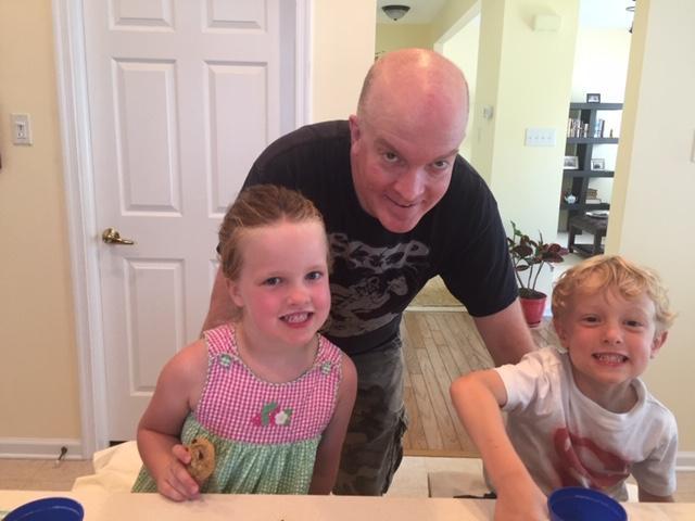 jaime with kids
