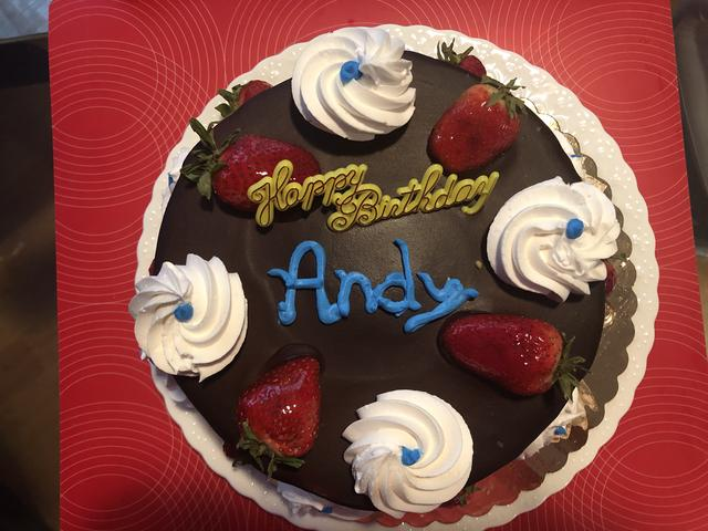 Andy's Birthday