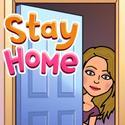 STAY HOME EMOJI