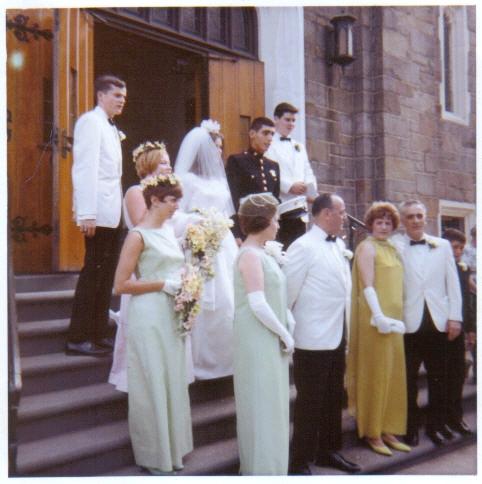 Steve's wedding to Kristine