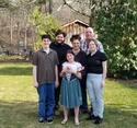 Easter Ginger, Joe, Devin, Ali, Joey and Gia