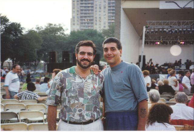 John and Steve - Many years ago .....