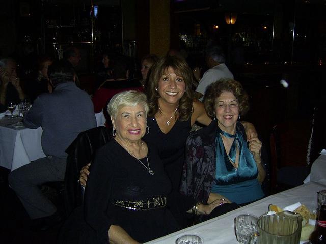 Fay, Maryann and Eva